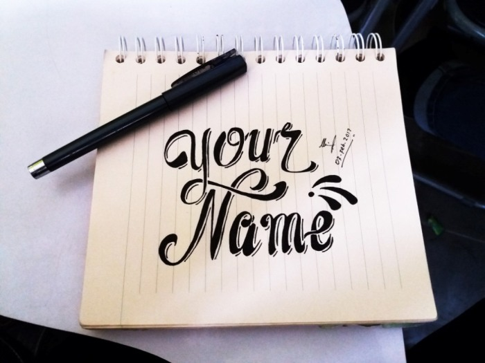 your-name-giveaway